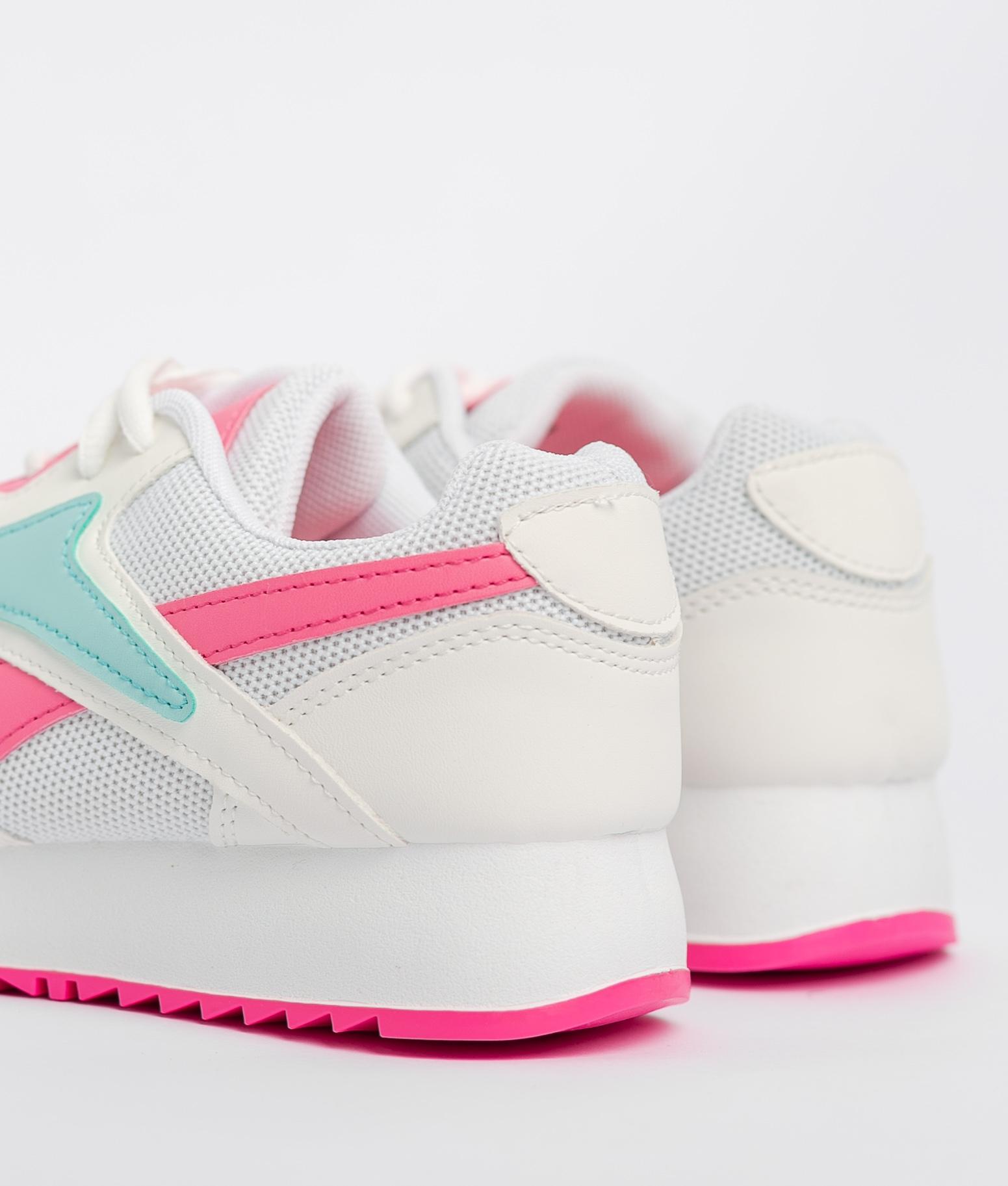 Sneakers Rame - Blanc/Fuchsia