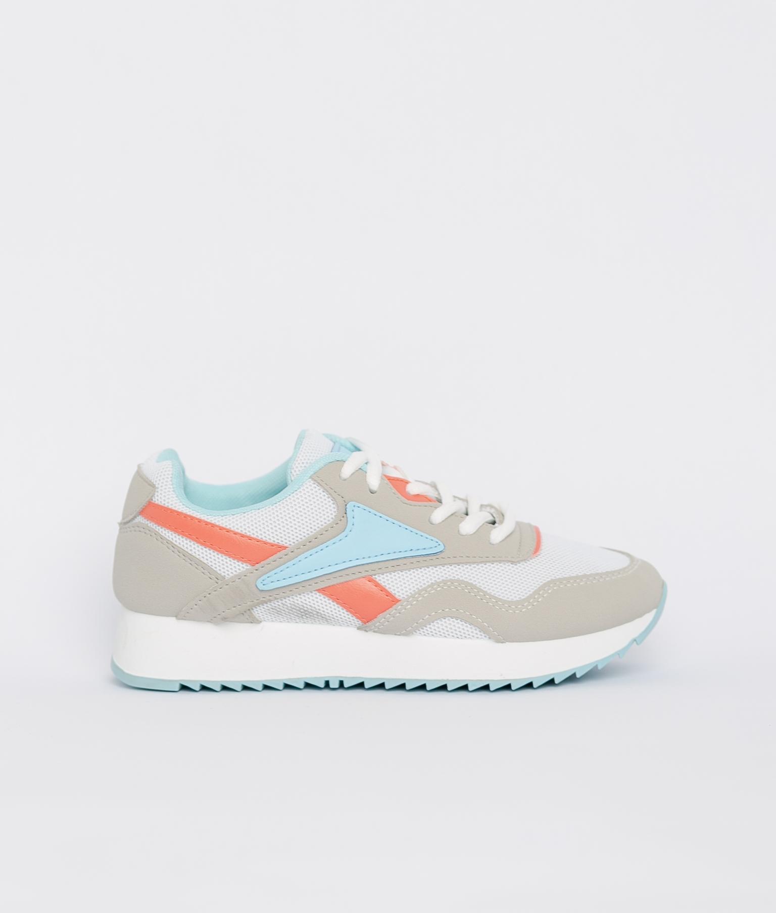 Sneakers Rame - Branco/Azul