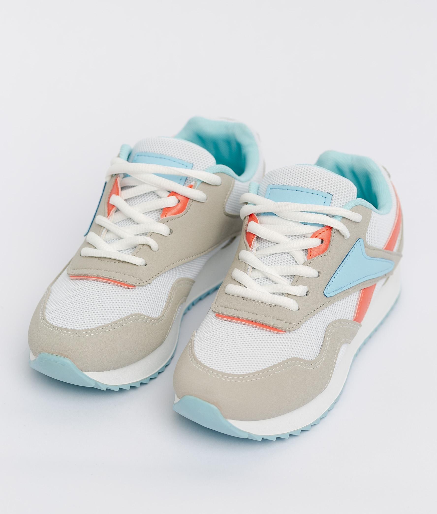 Sneakers Rame - Blanco/Azul