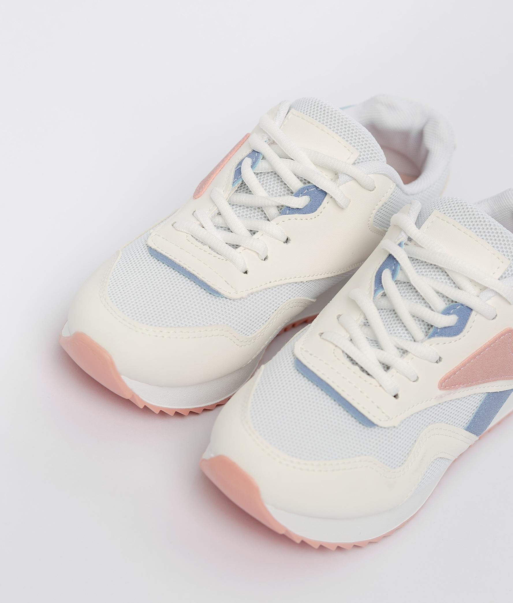 Sneakers Rame - Branco/Vermelho