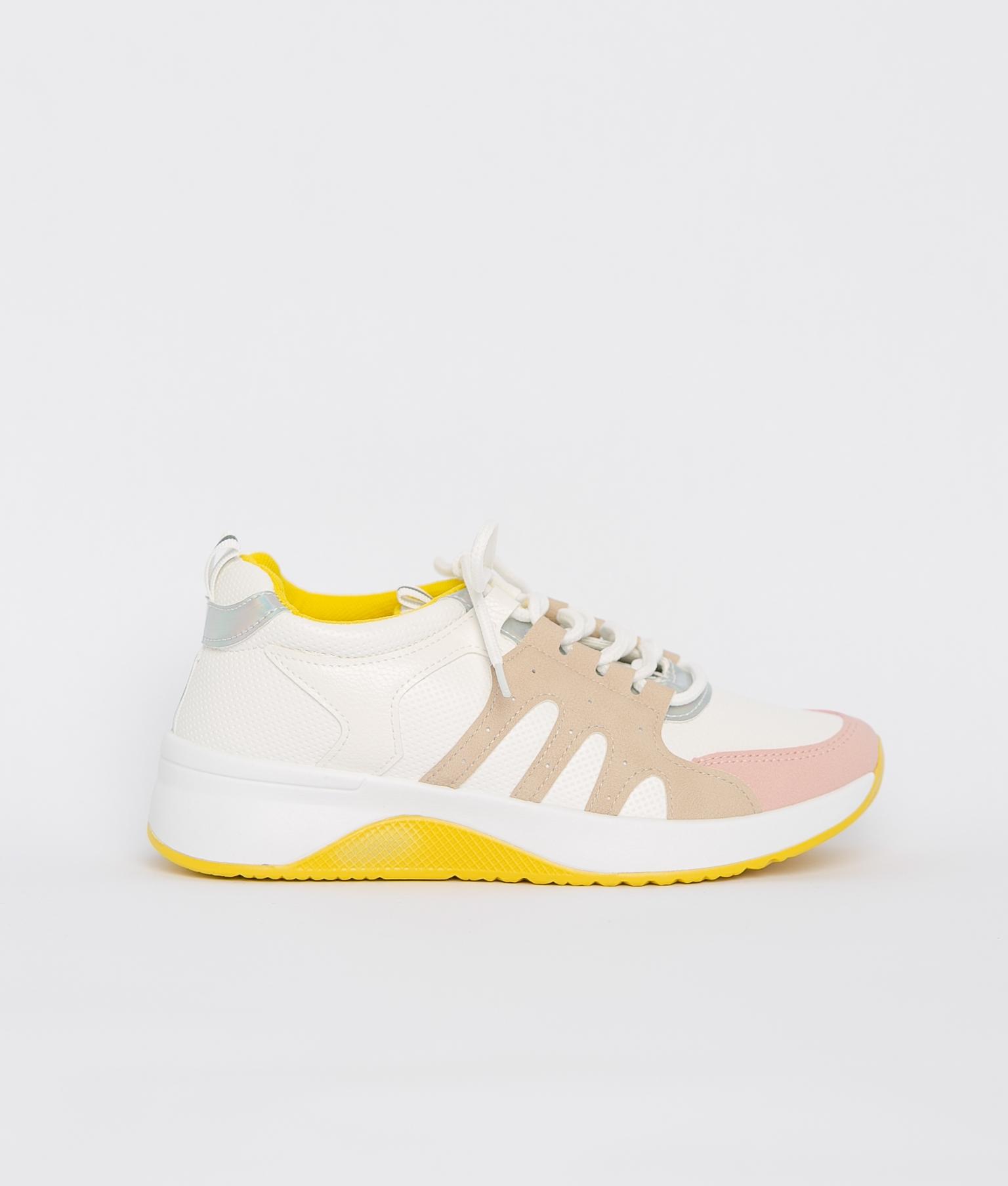 Sneakers Meseta - Amarelo