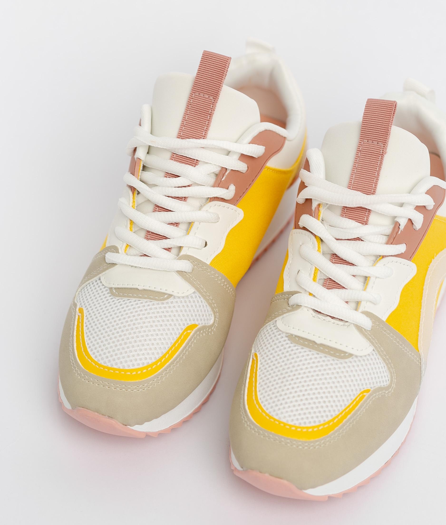 Sneakers Carelia - Amarelo