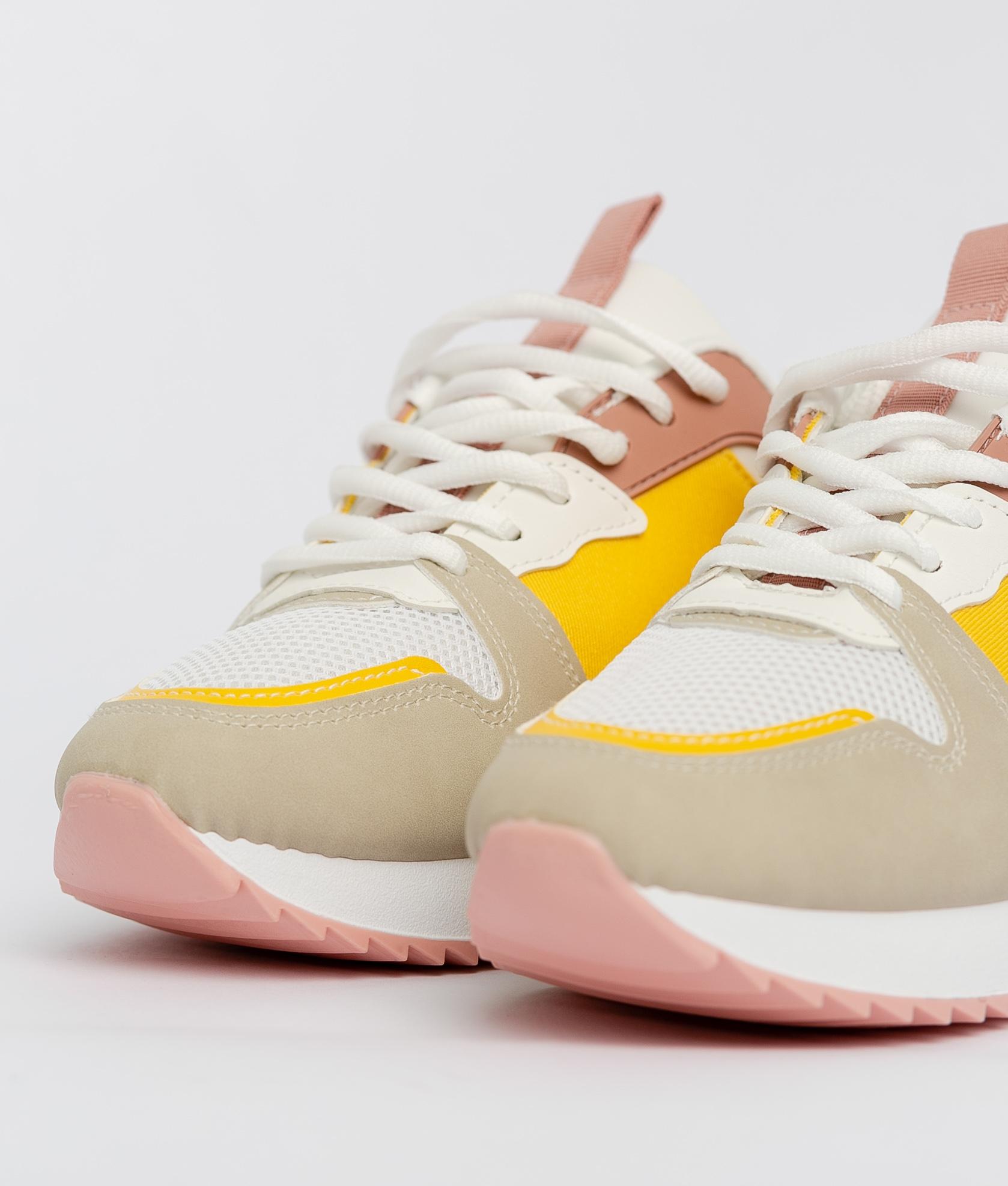 Sneakers Carelia - Yellow
