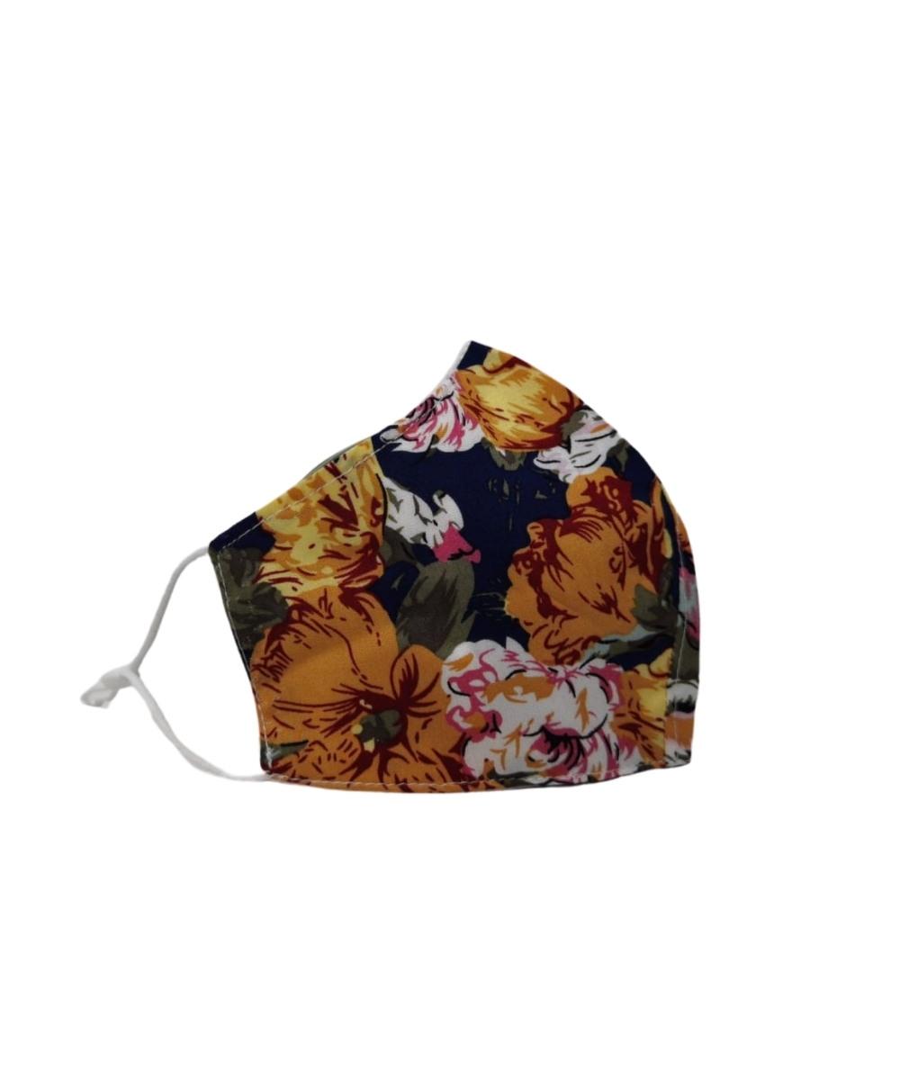 RENE MASK - YELLOW FLOWERS