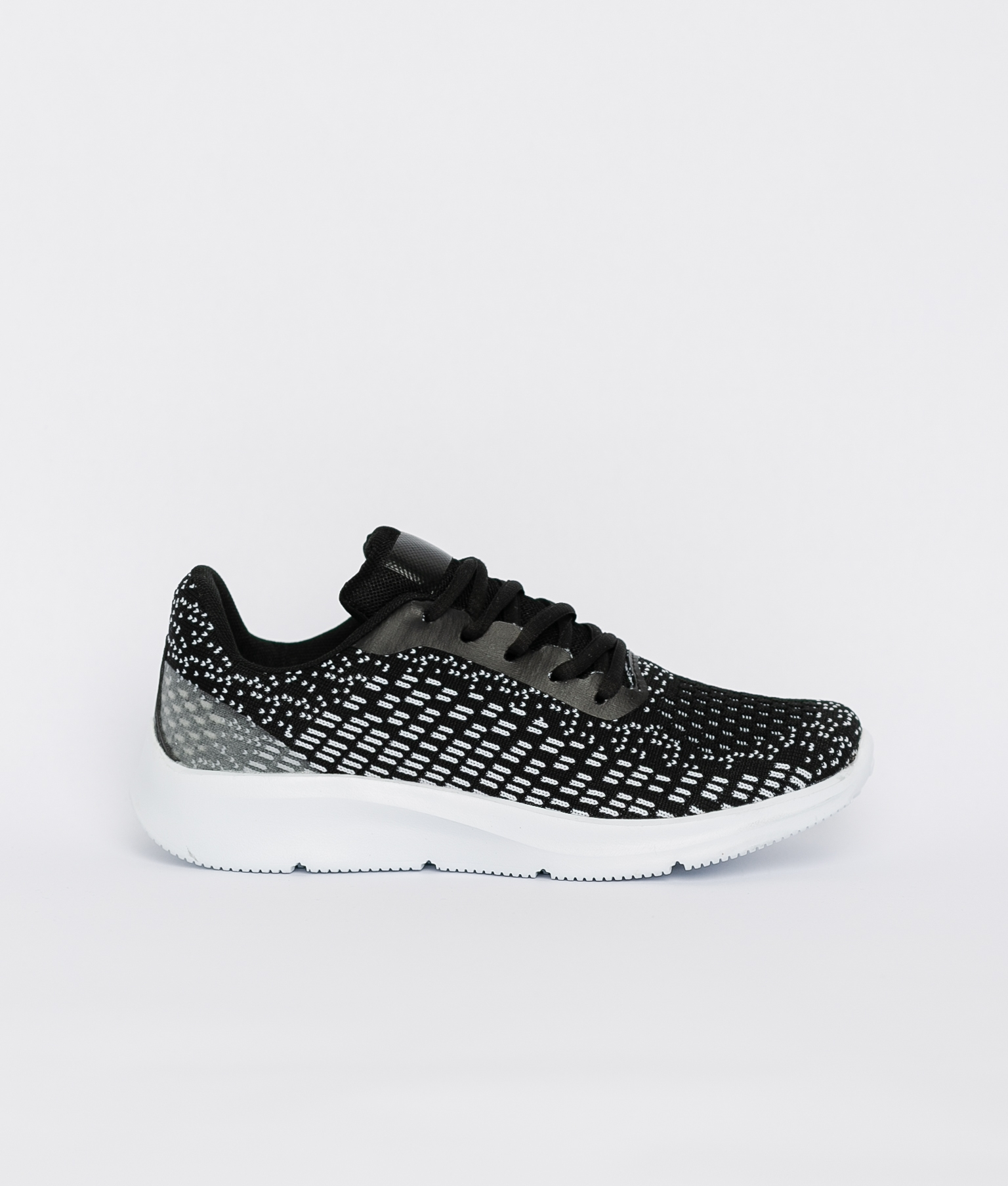 Sneakers Jaspe - Noir/Blanc