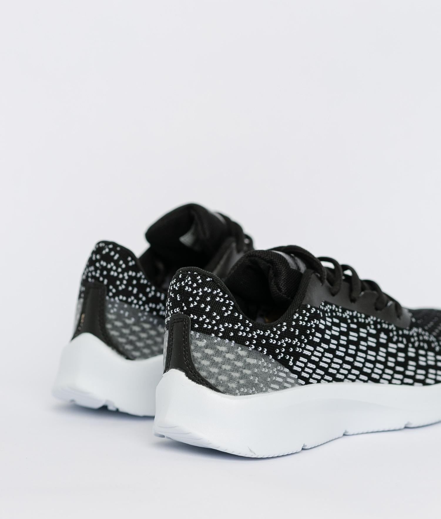 Sneakers Jaspe - Negro/Blanco