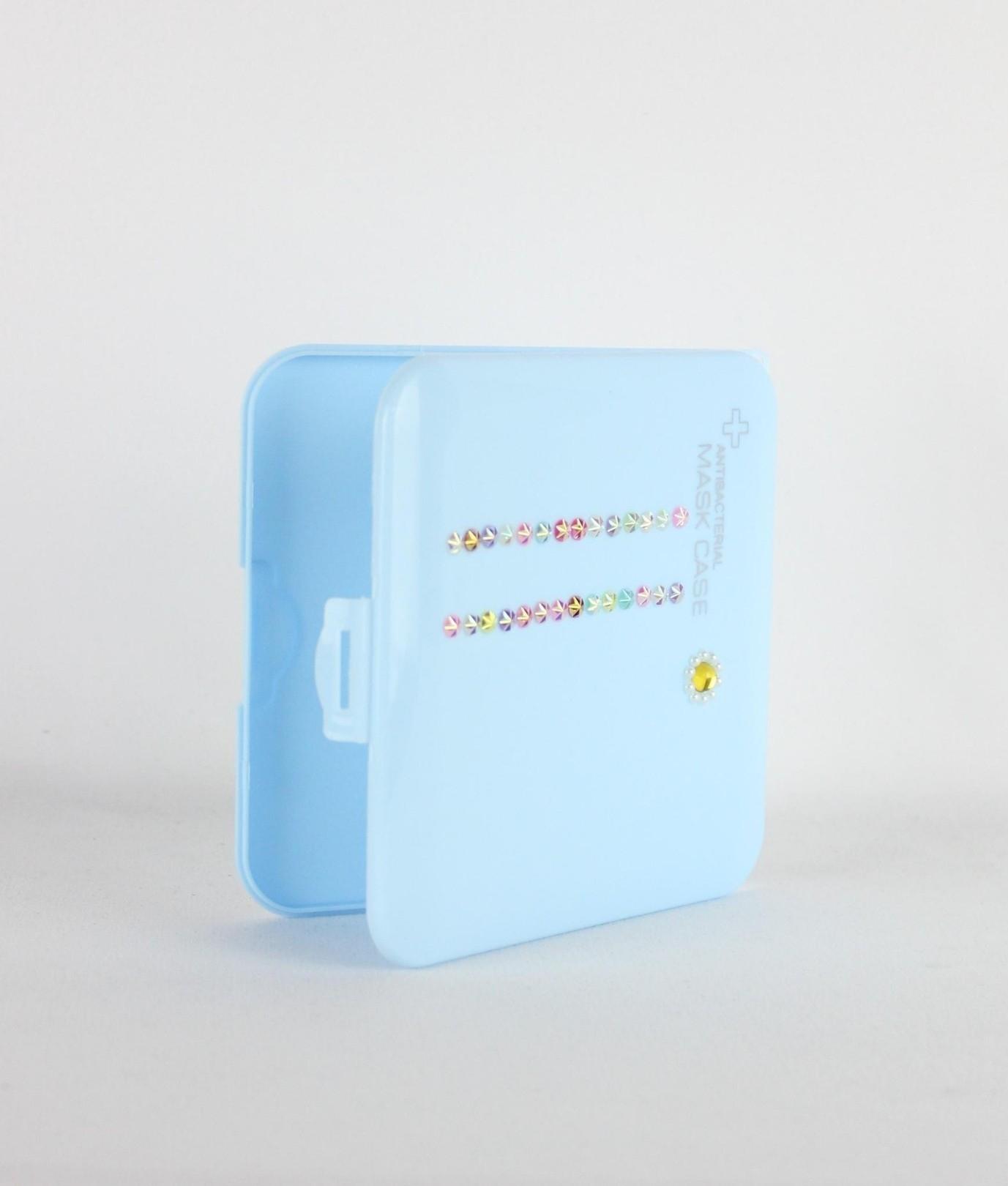 Porta Maschera Candy - Blu