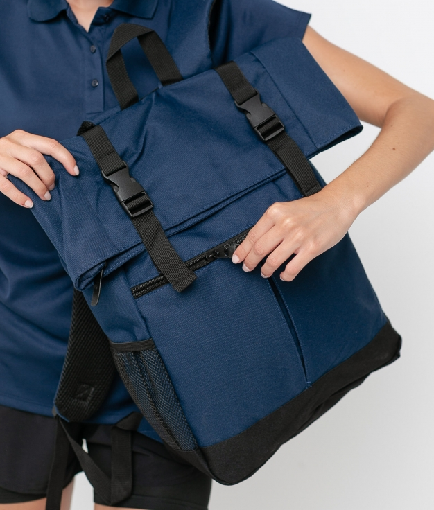 PRINKA BACKPACK - DARK BLUE