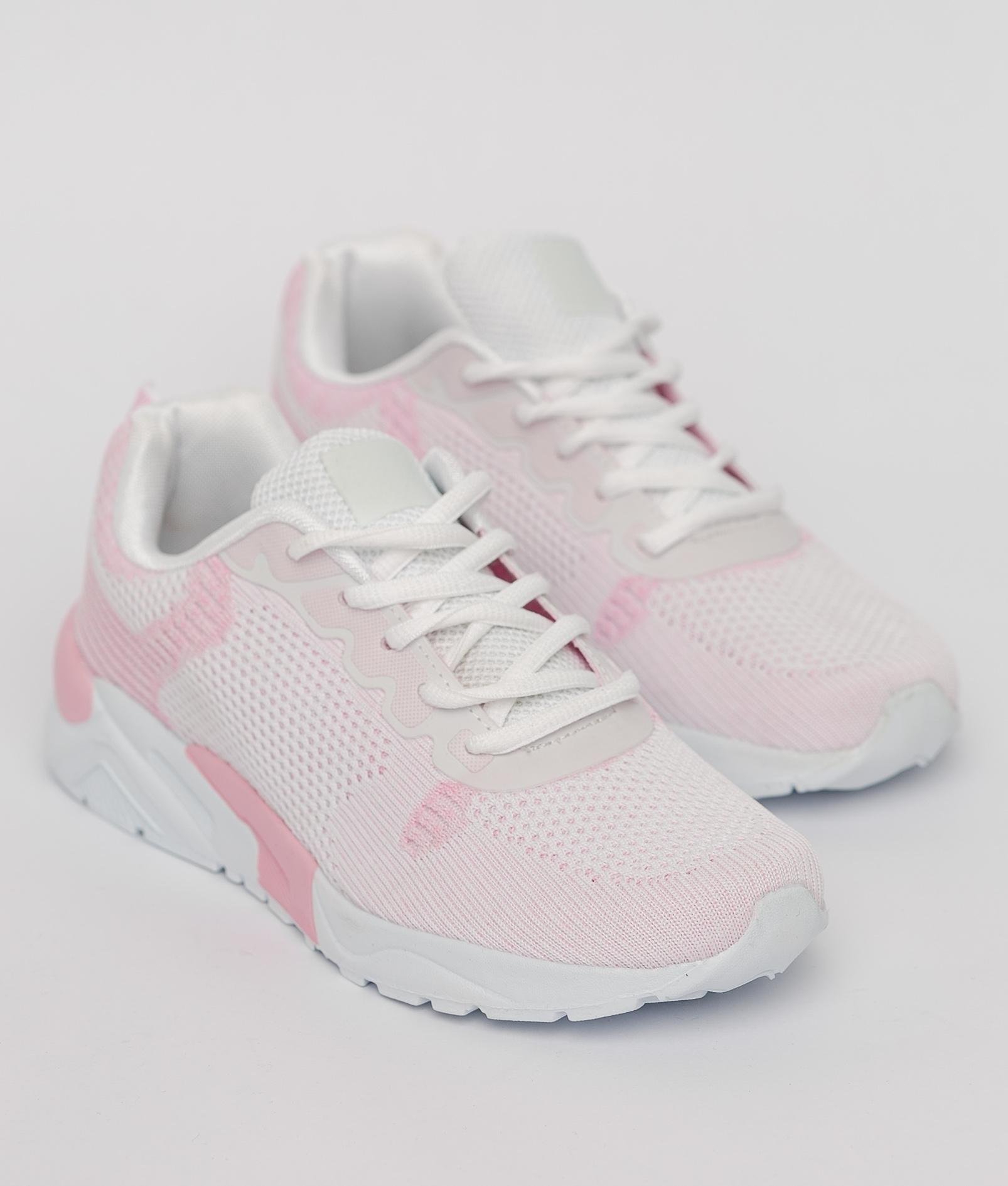 Sneakers Carmena - Blanc/Rose