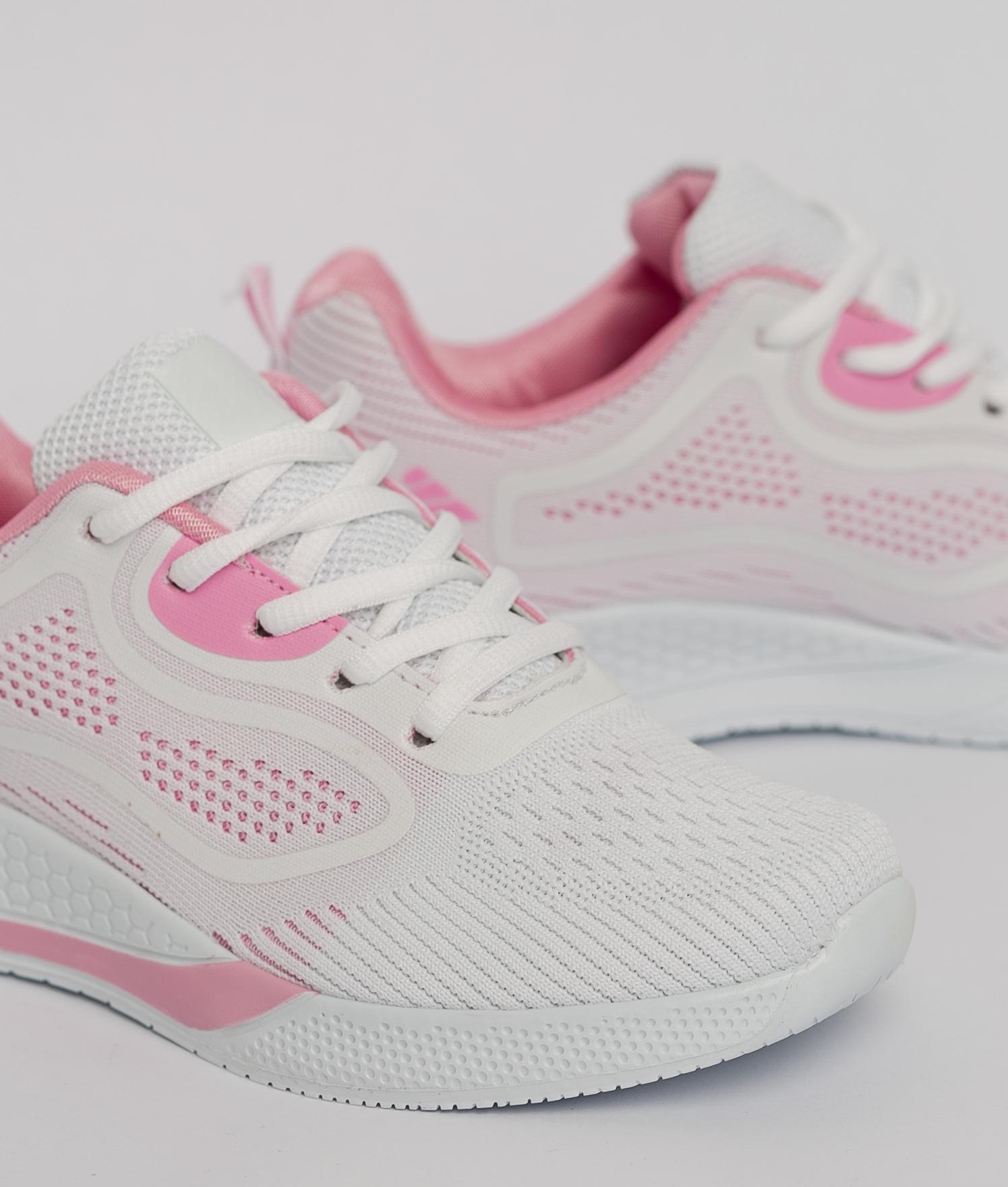 Sneakers Sirena - Branco/Rosa
