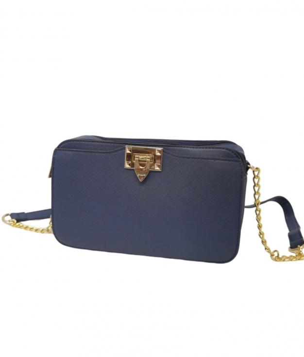 Pilar Shoulder Bag- Blue
