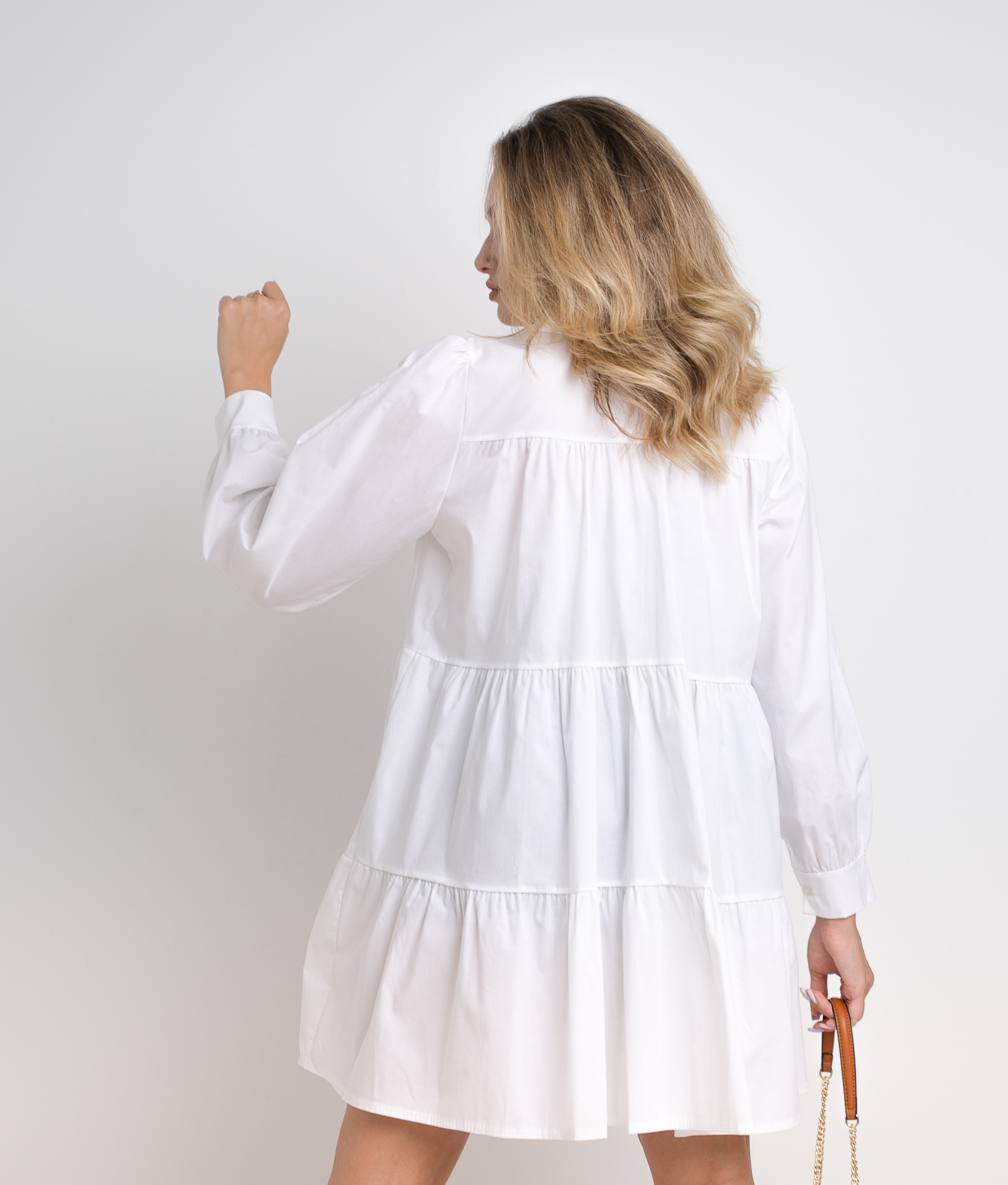 ARCONA DRESS - WHITE