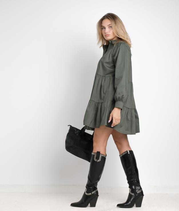 ARCONA DRESS - GREEN