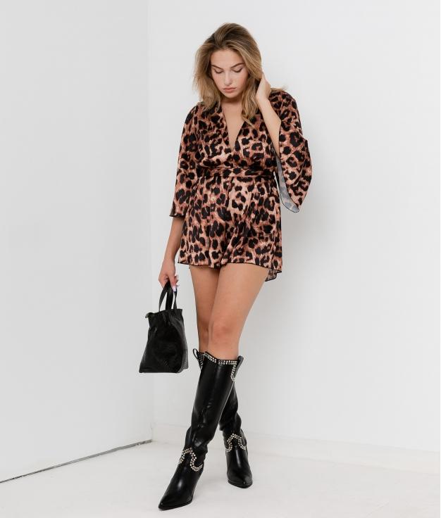 Salopette Lusma - Leopardo