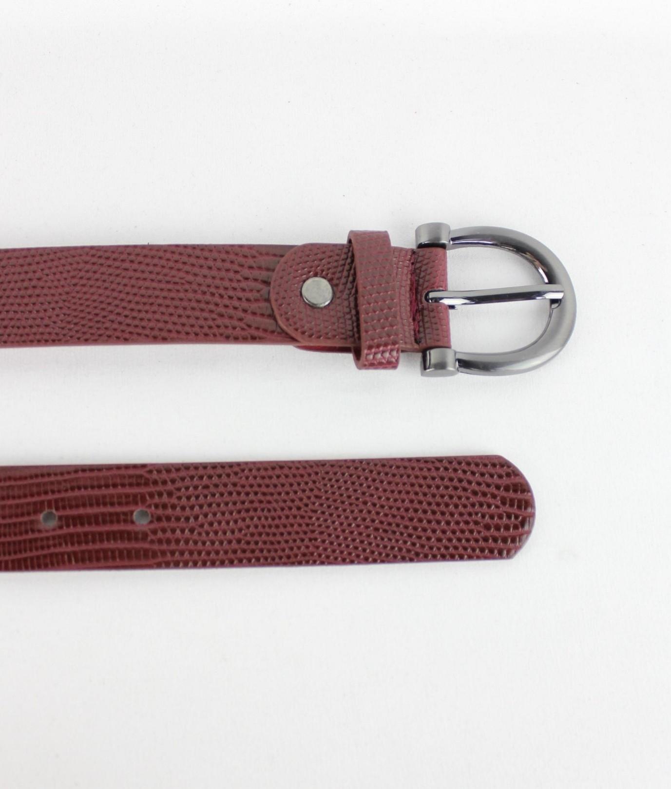 Belt June - Garnet