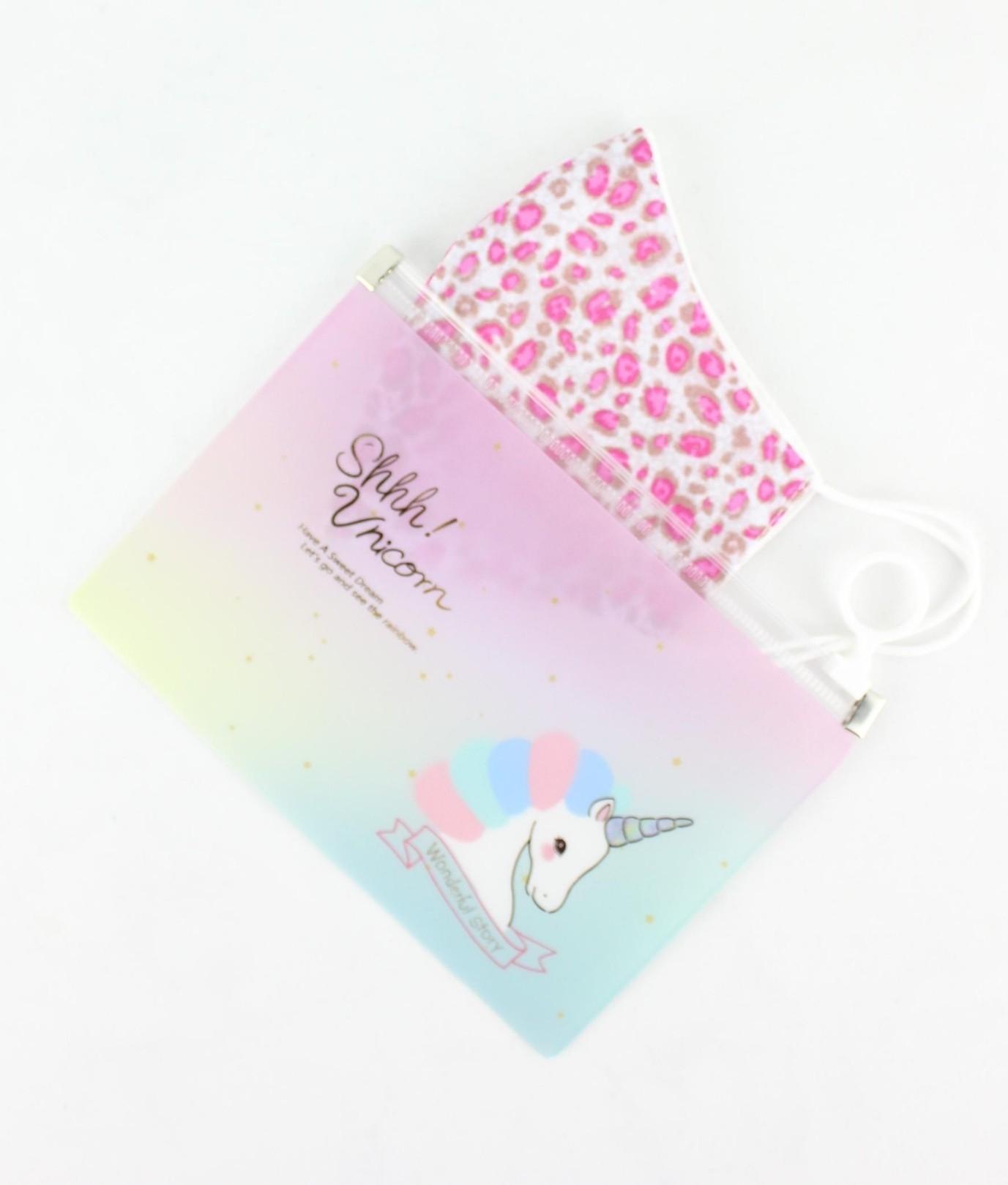 Porta Maschera Unicornio - Multicolore AC