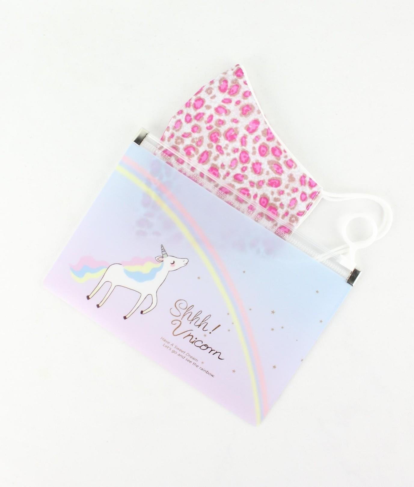 Porta Mascara Unicornio - Multicolorida AD