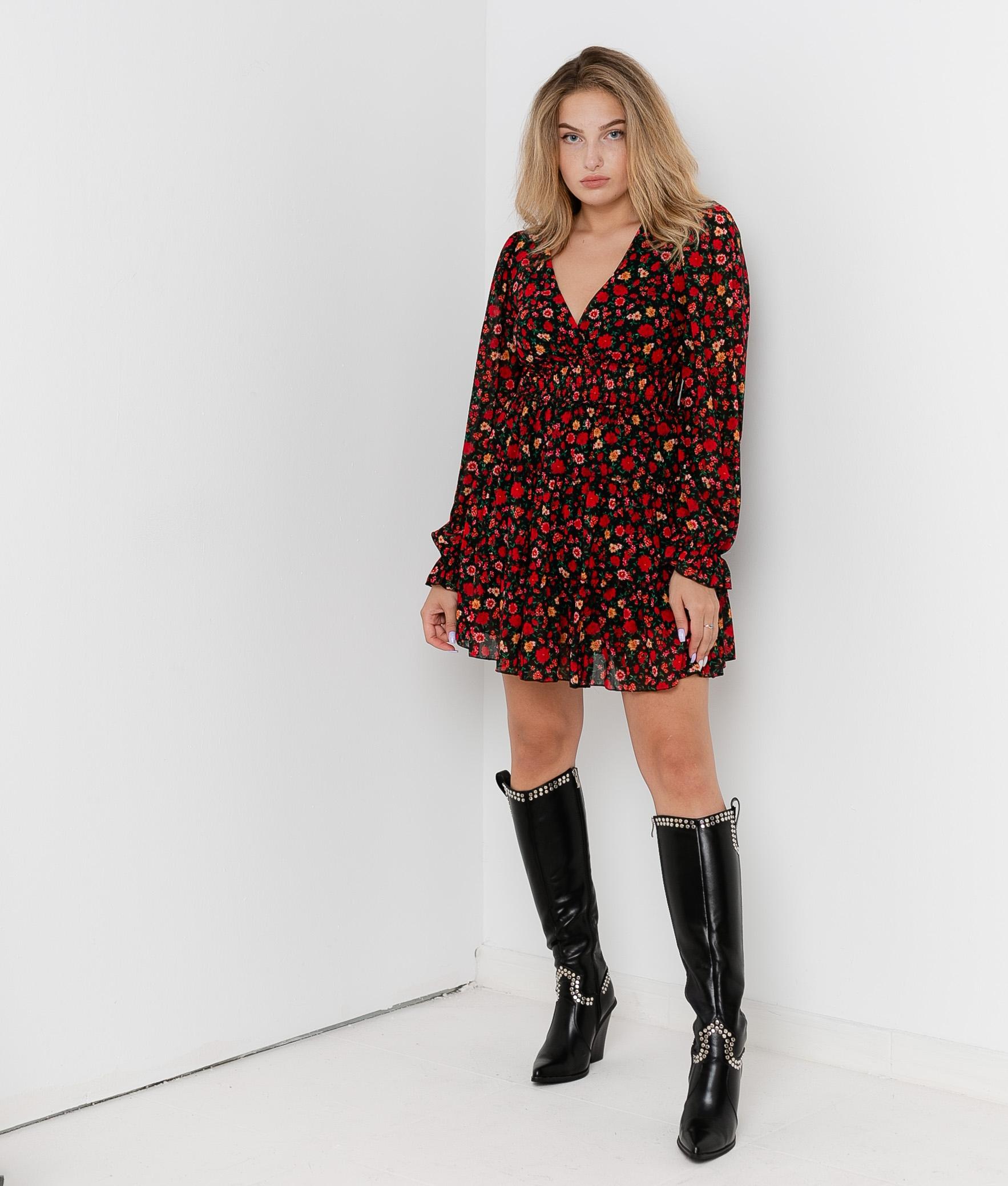 Dress Soger - Red