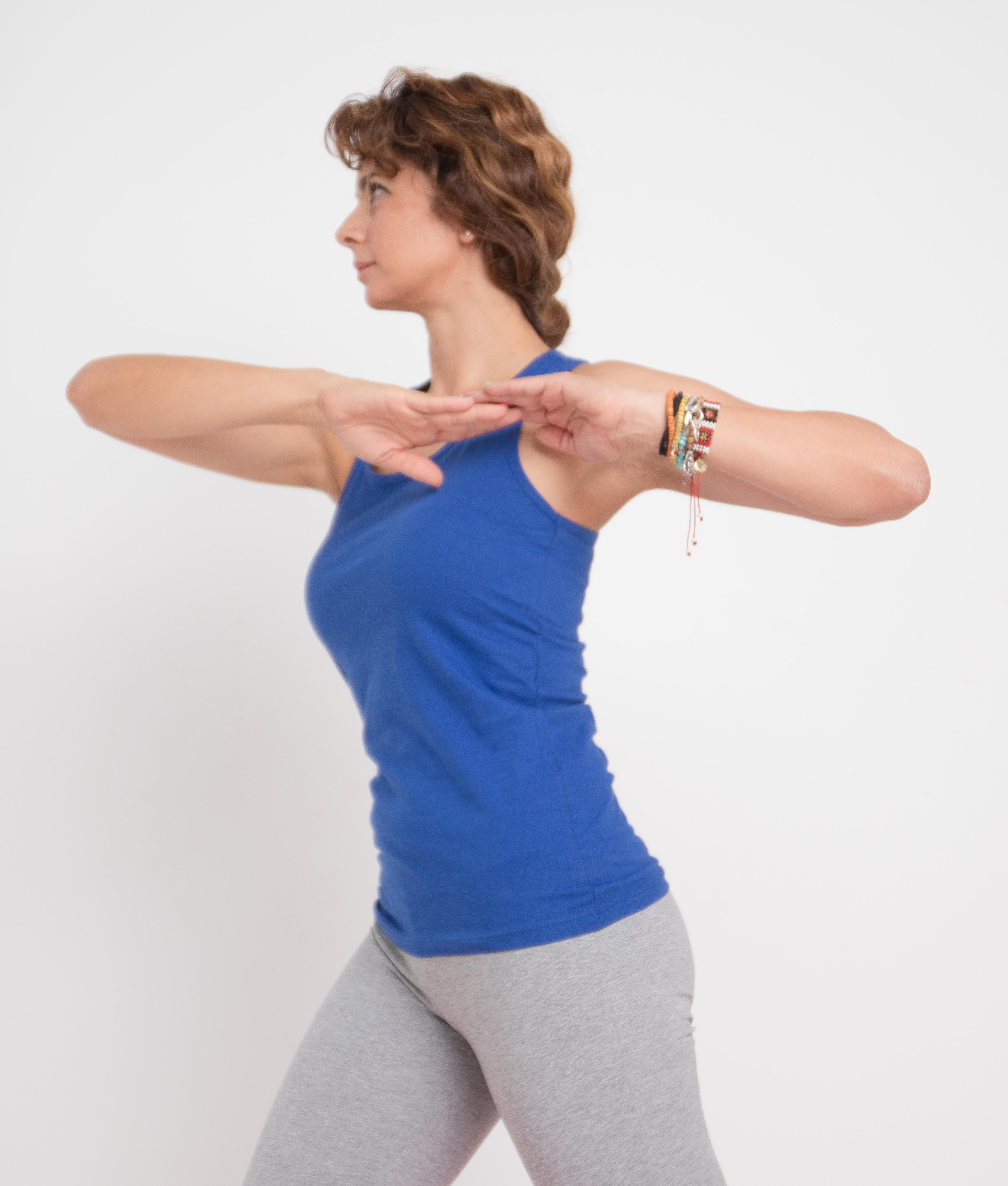 T-shirt Corai - Bleu Klein