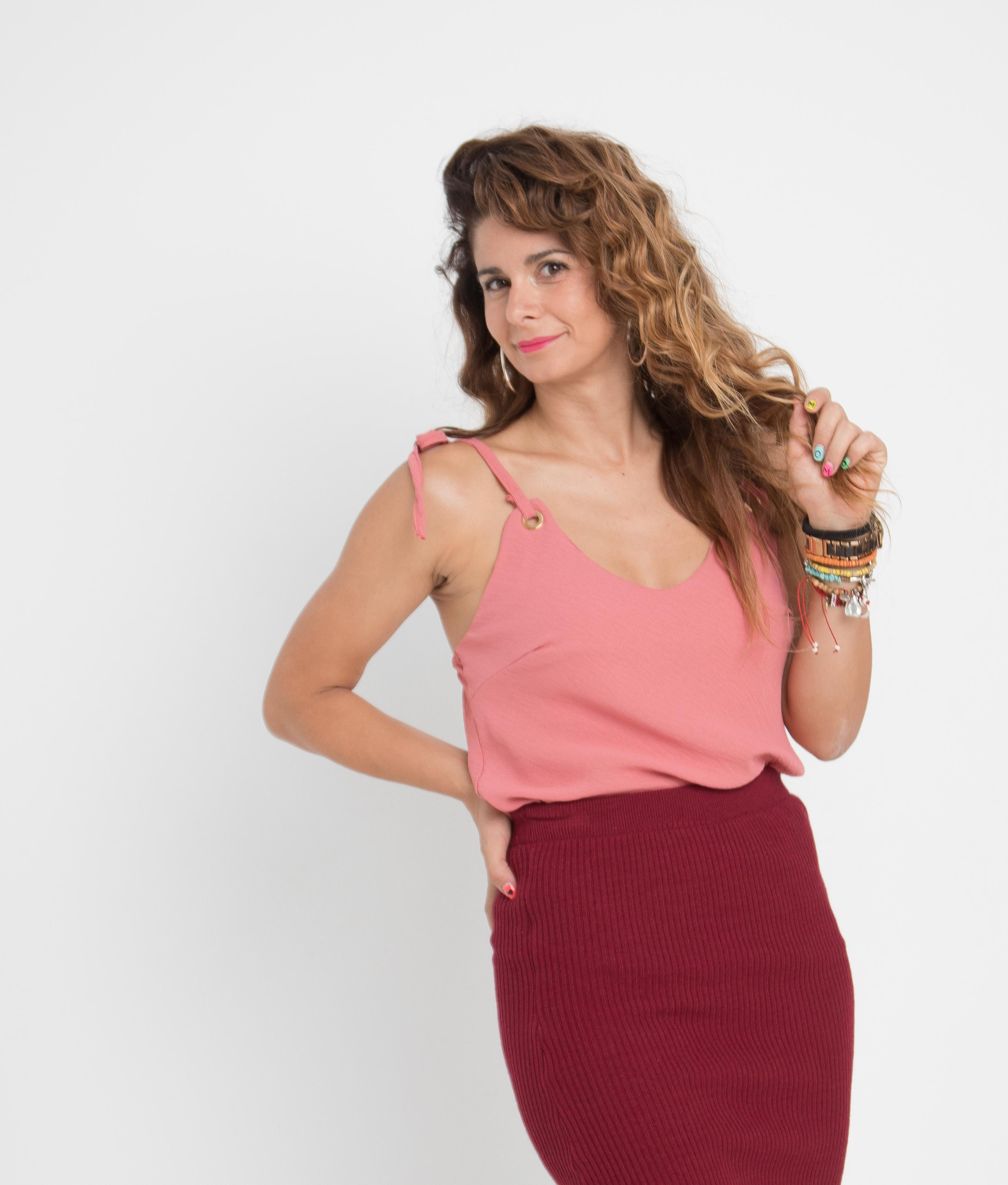 Blusa Nanet - Rosa