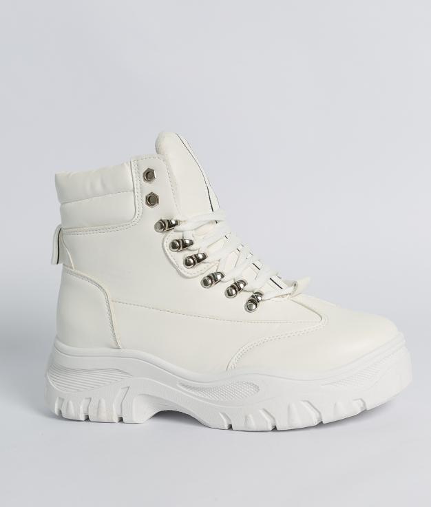 Botas bajas Albrus - Blanco