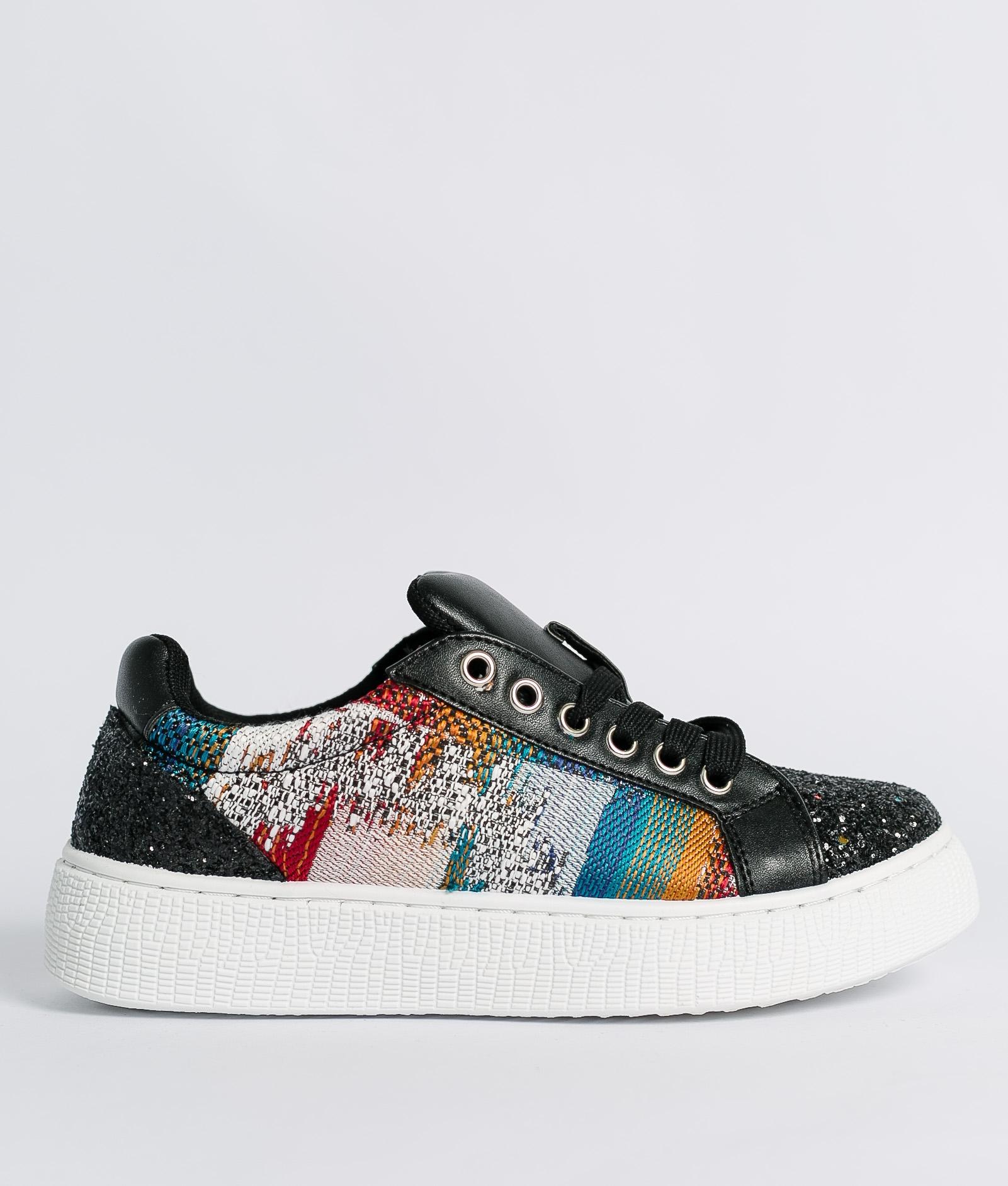 Sneakers Glita - Negro