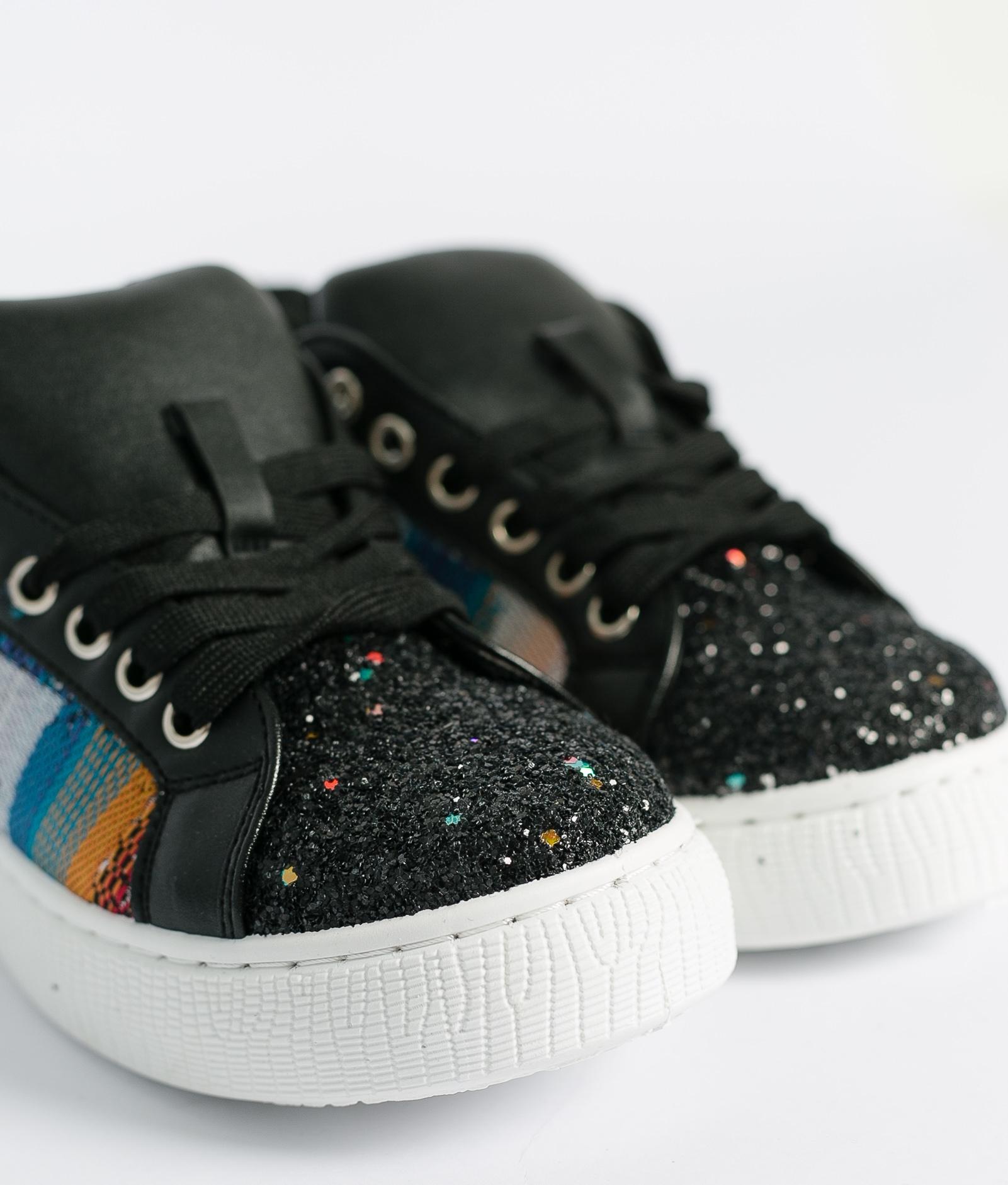 Sneakers Glita - Preto