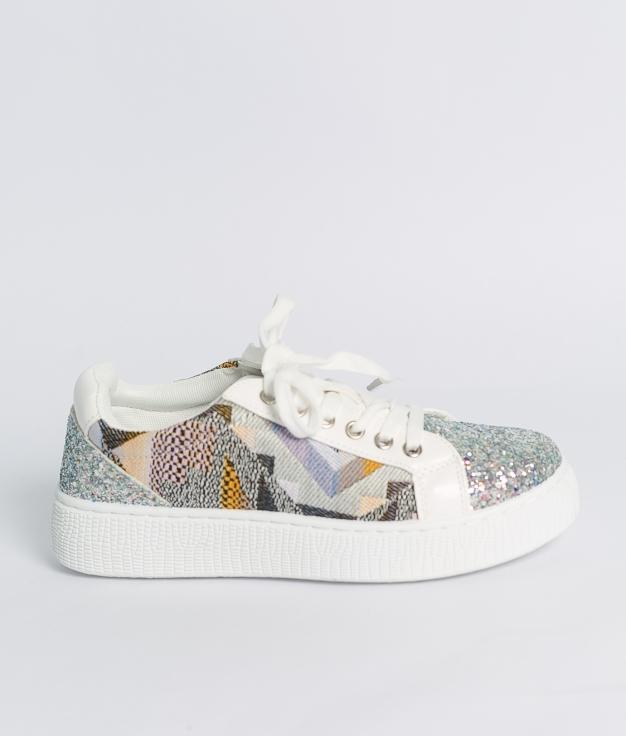 Sneakers Glita - Blanco