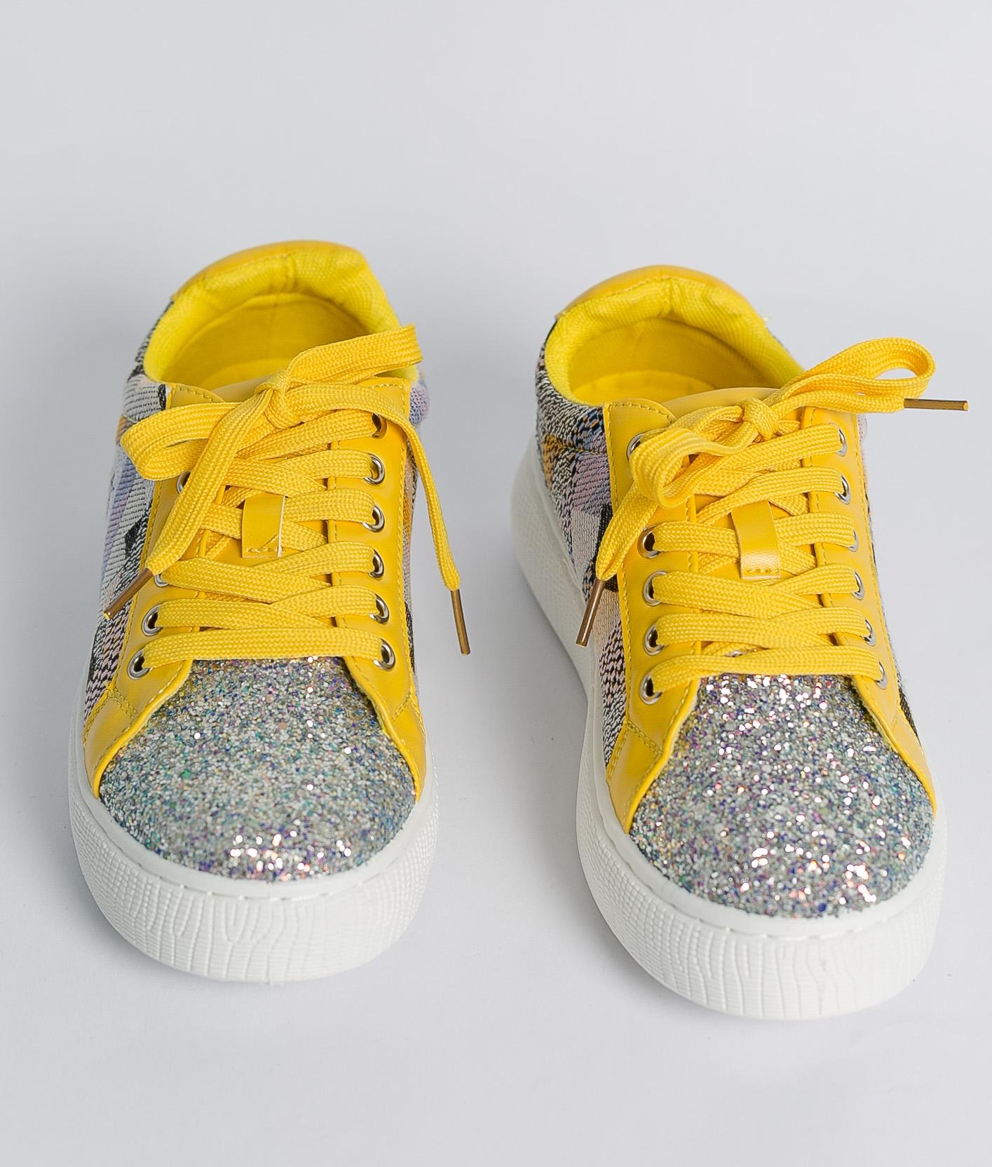 Sneakers Glita - Amarelo