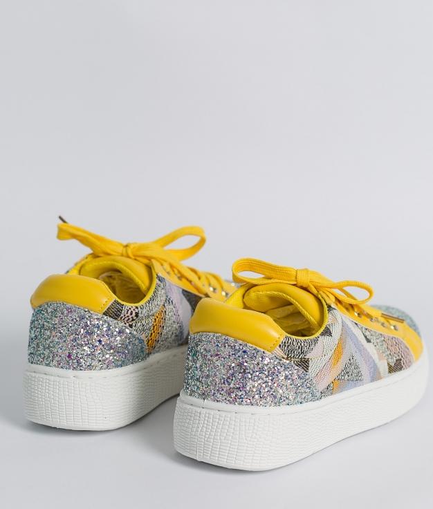 Sneakers Glita - Amarillo