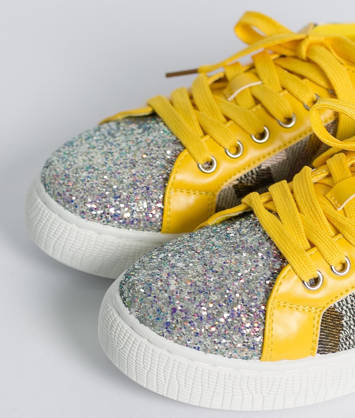 Sneakers Glita - Giallo