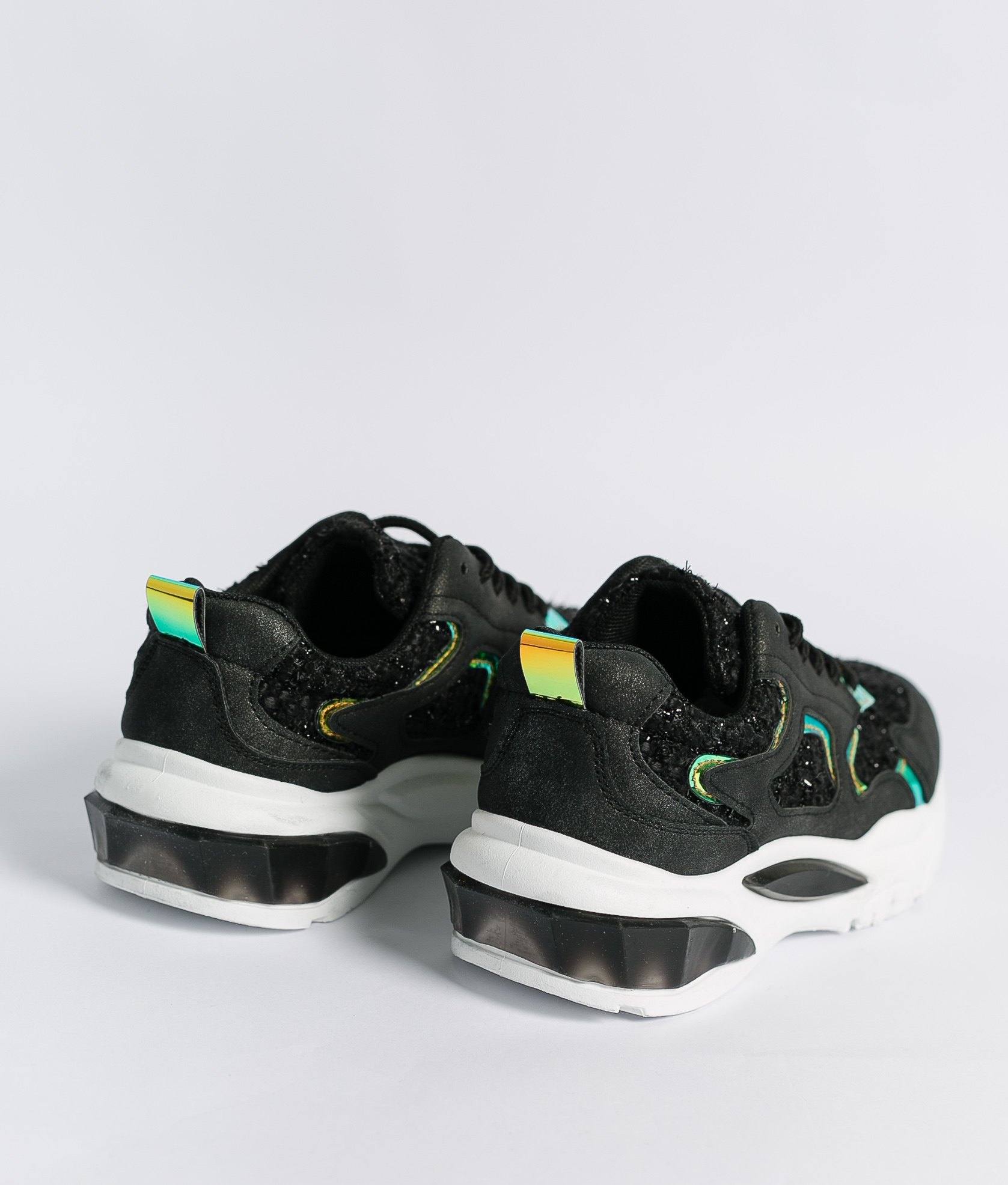 Sneakers Conga - Nero