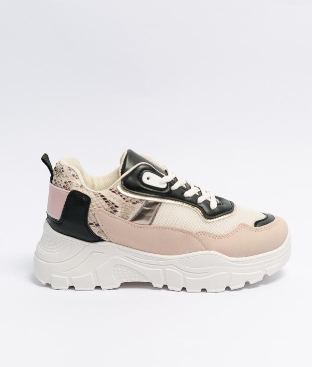 Sneakers Liana - Rose