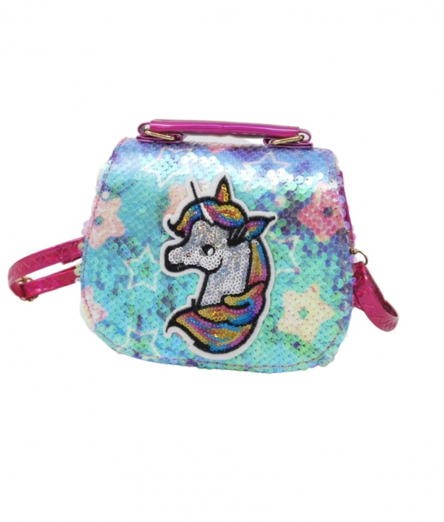 SAC LICORNE - SEQUINS