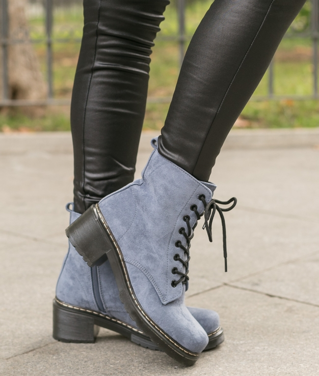 Low Boot Ferulcon - Blue