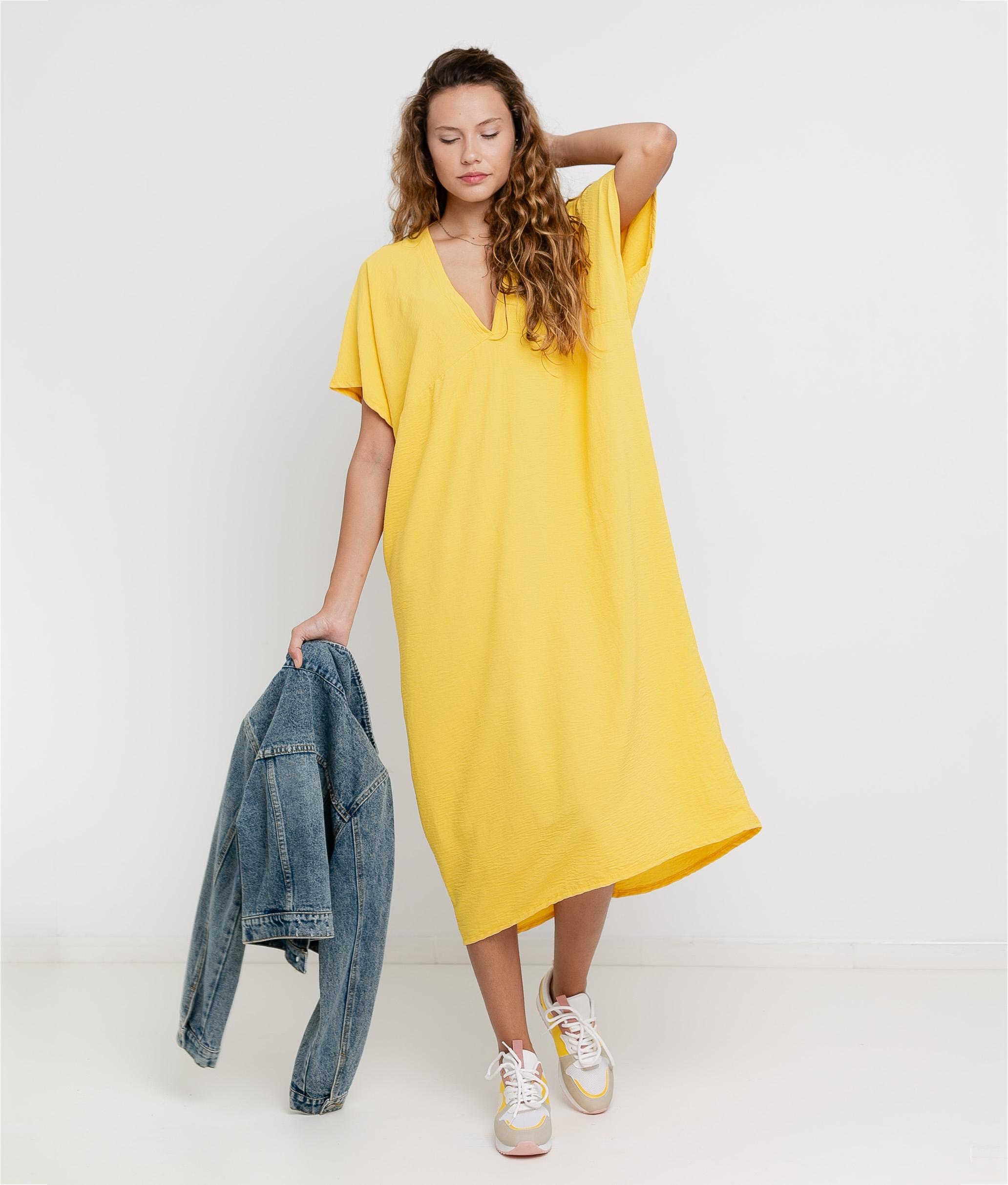 Vestido Luba - Yellow