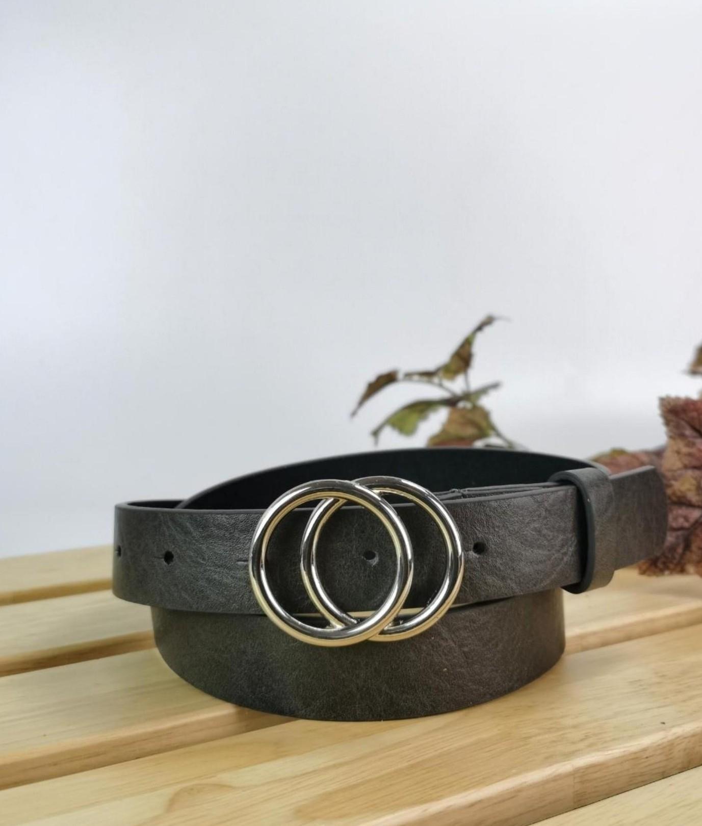 Cinturón Nikita - gris