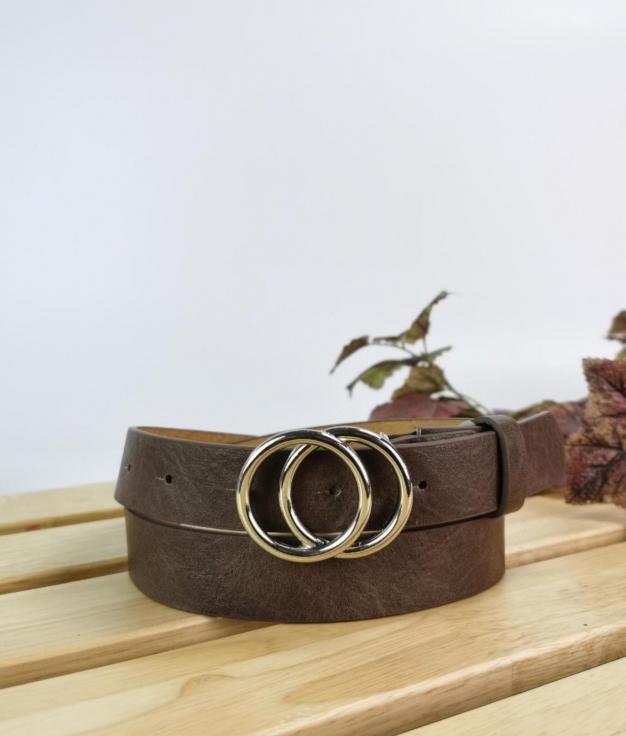 Cinturón Nikita - taupe