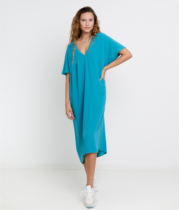 Vestido Luba - Blu