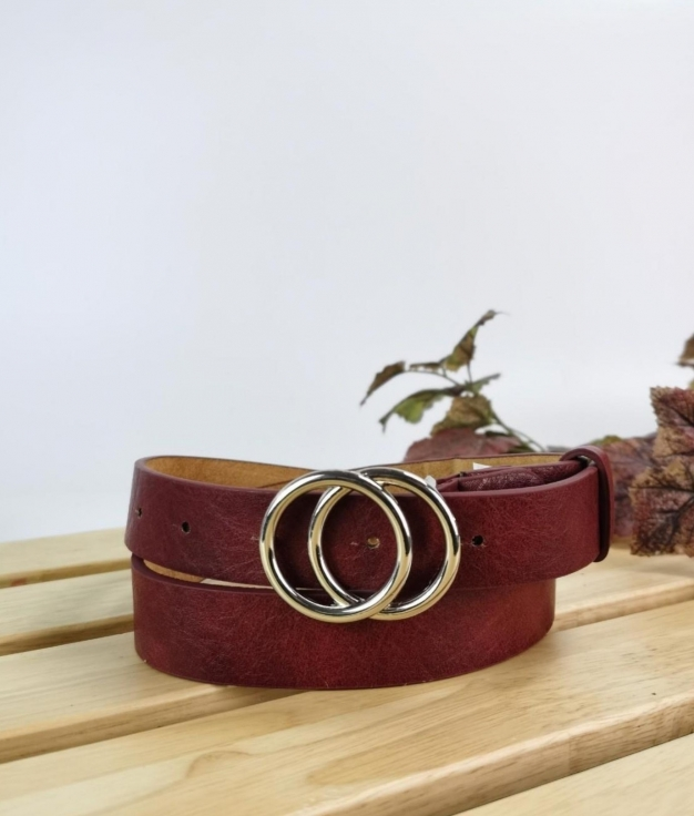 Cinturón Nikita - rojo