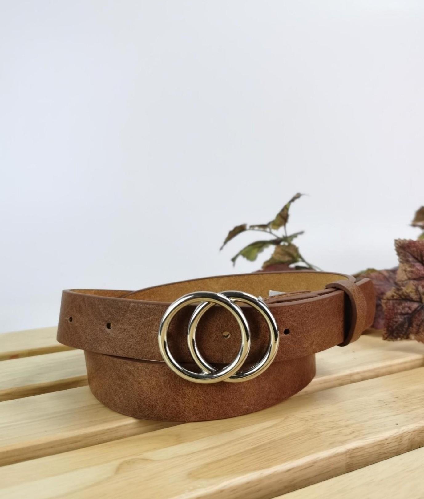 Cinturón Nikita - marrón