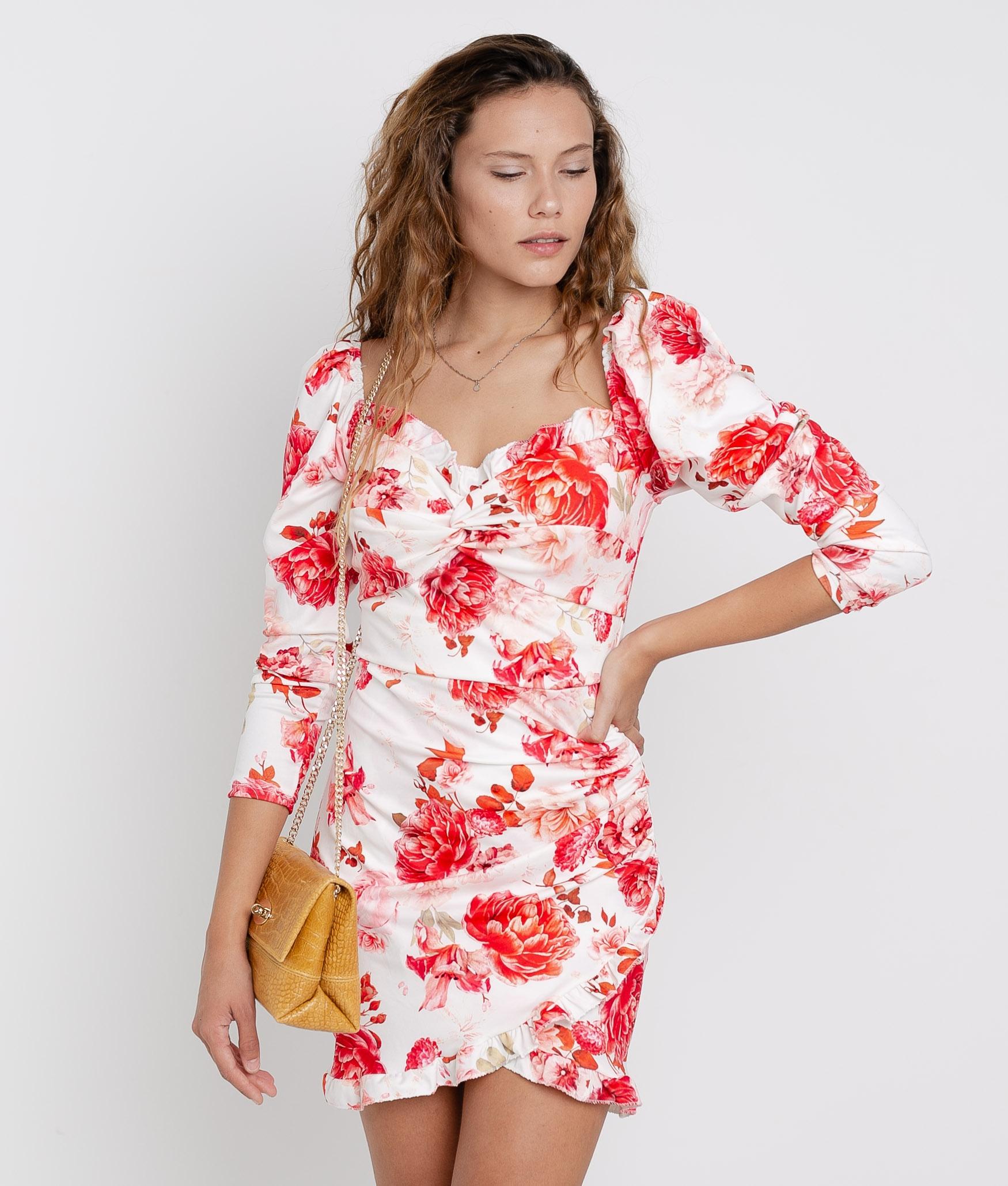 ARIYA DRESS - WHITE
