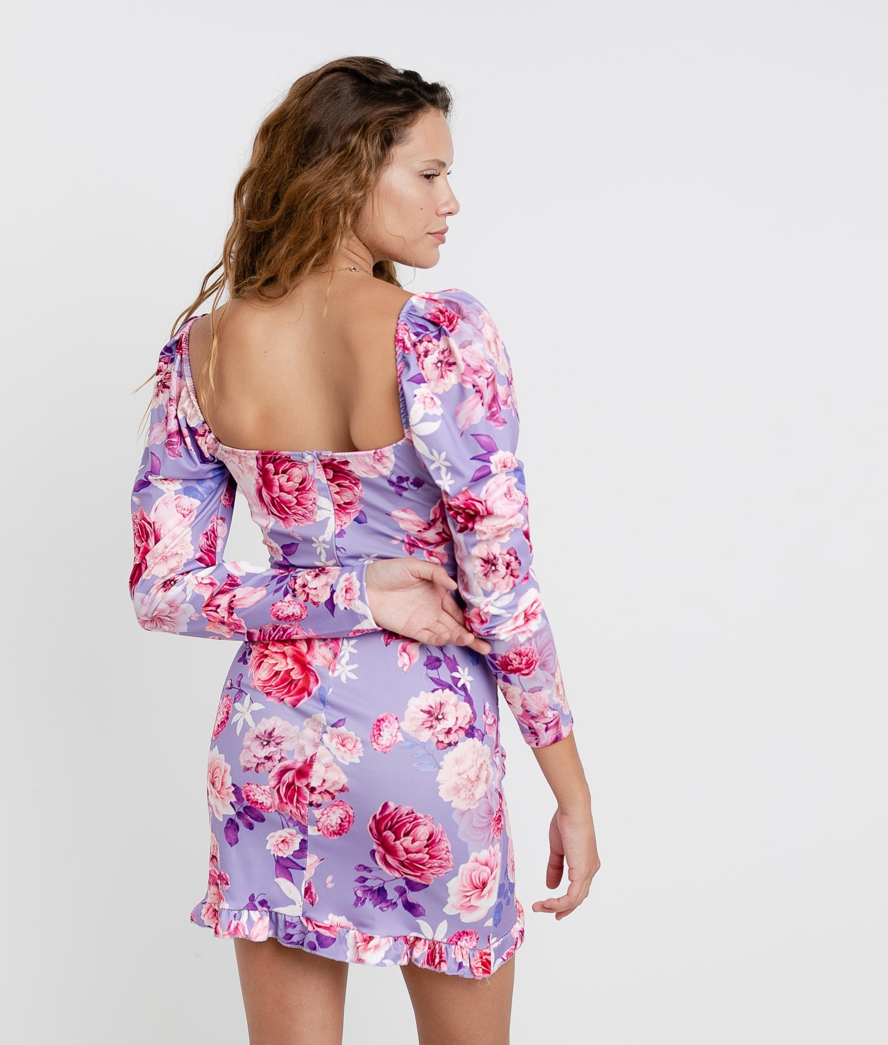 ARIYA DRESS - PURPLE