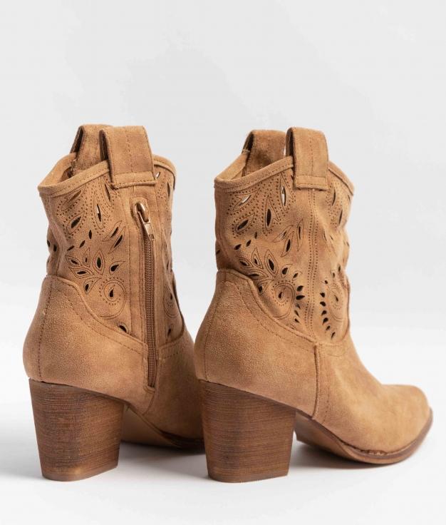 Low Boot Ojana - Camel