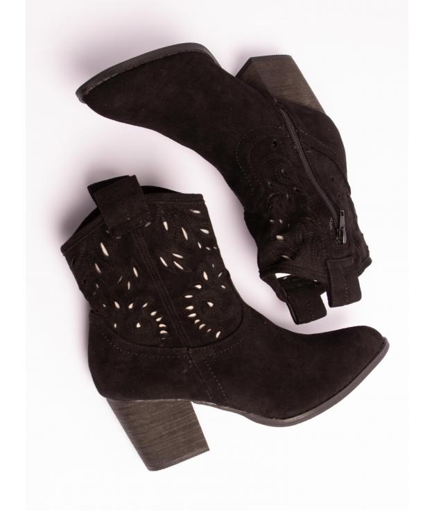 Low Boot Ojana - Black