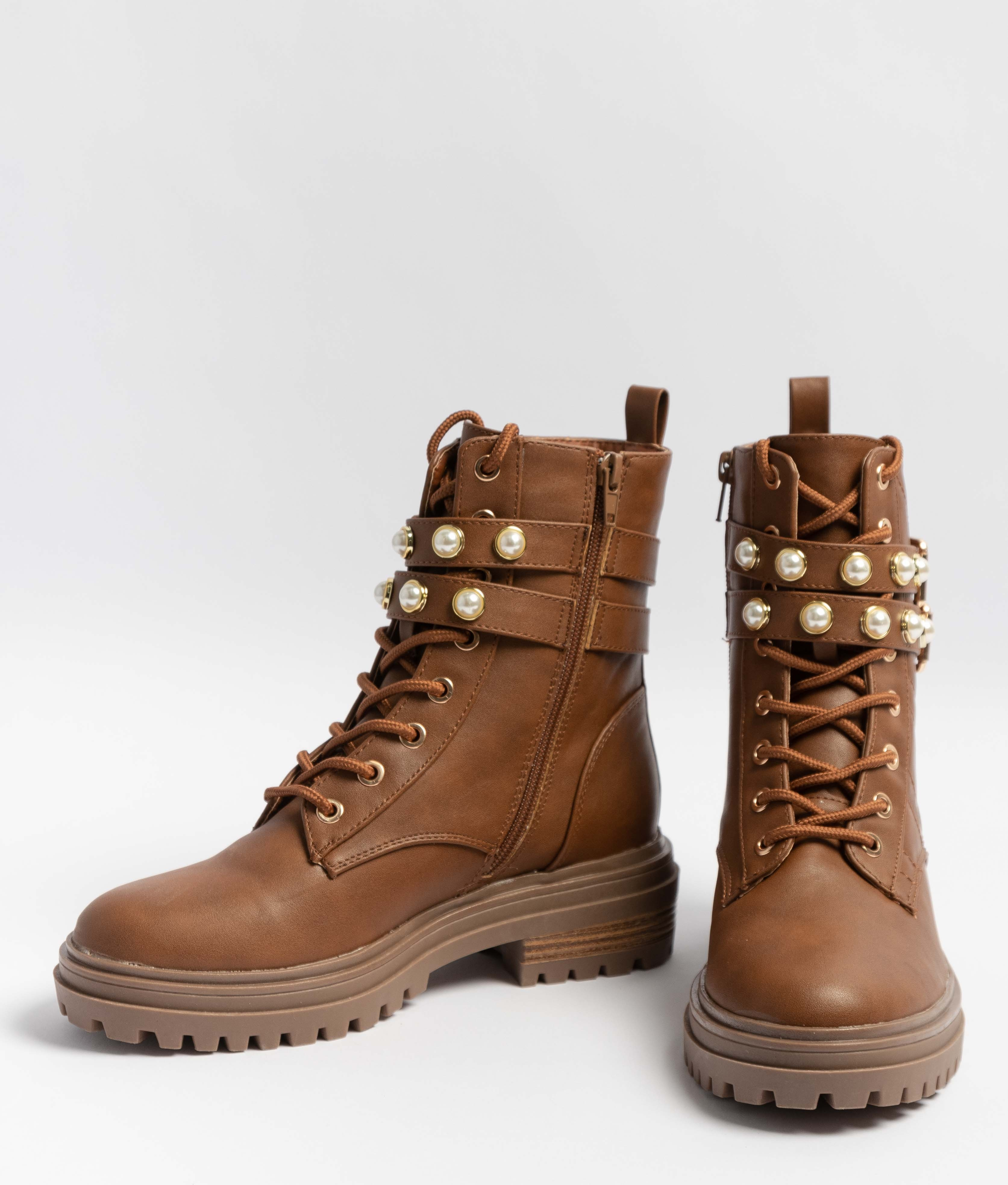 Low Boot Perlan - Camel