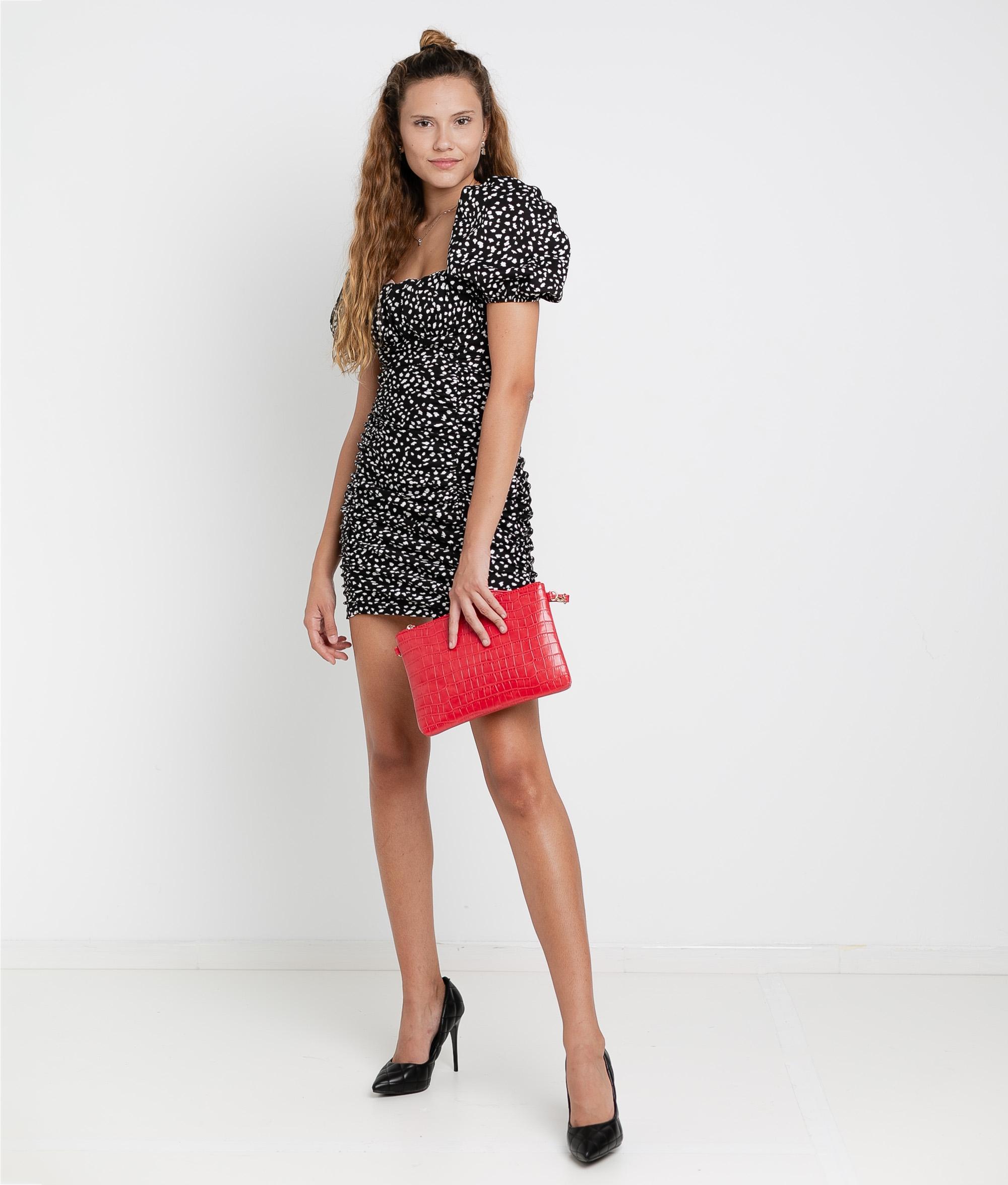 Dress Macor - Black/White