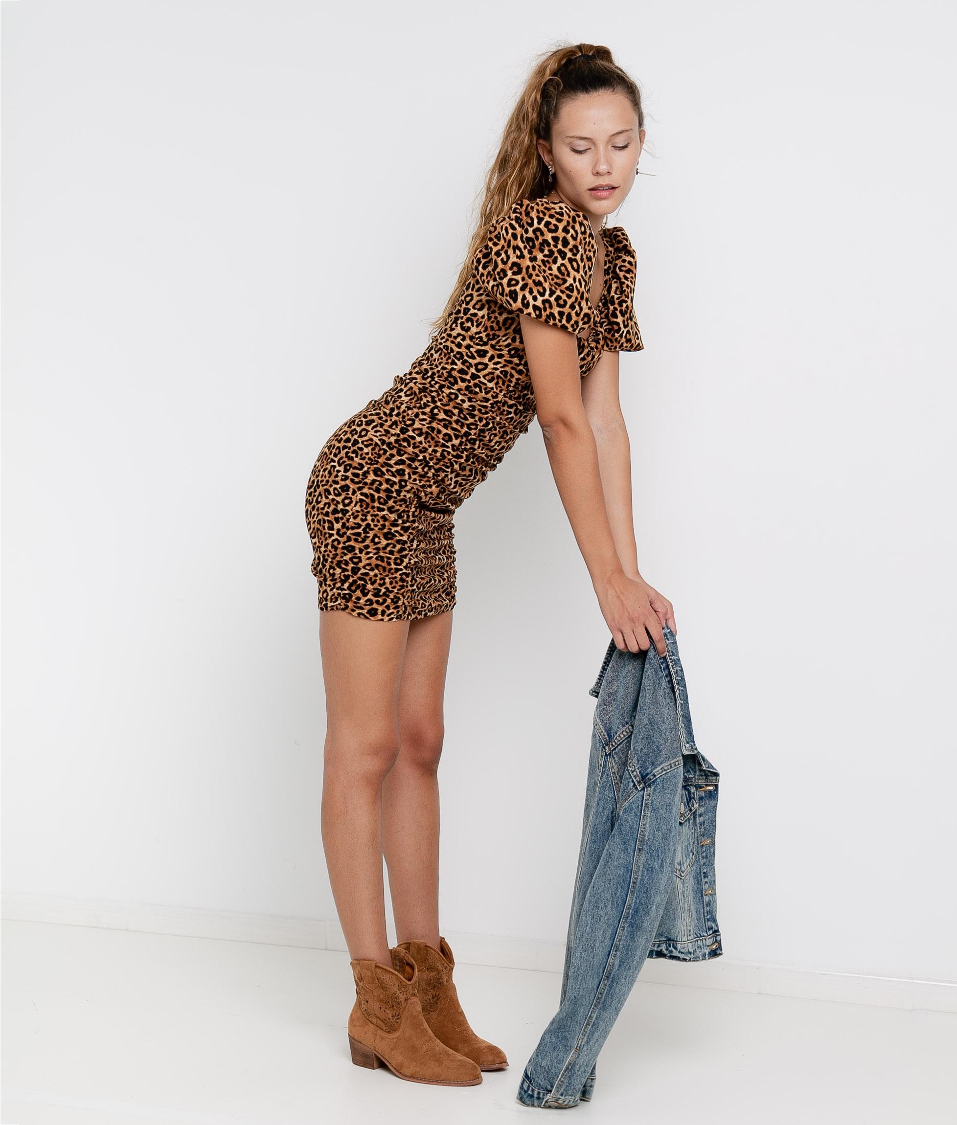 Dress Macor - Leopard