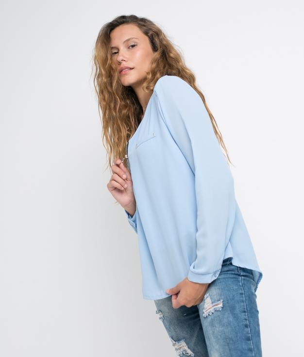 T-shirt Hamjo - Bleu