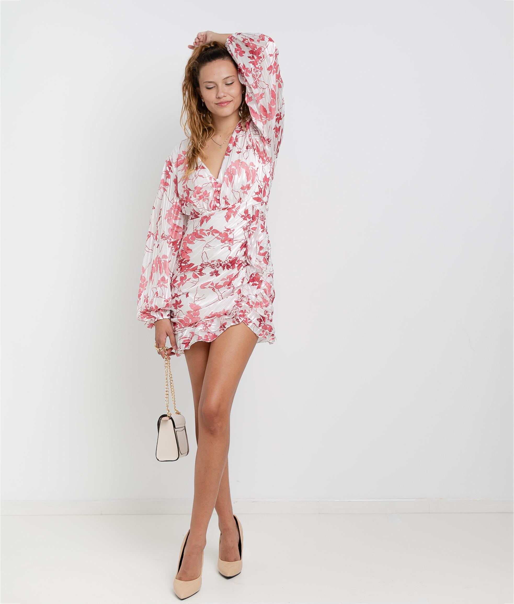 Dress Ponge - White